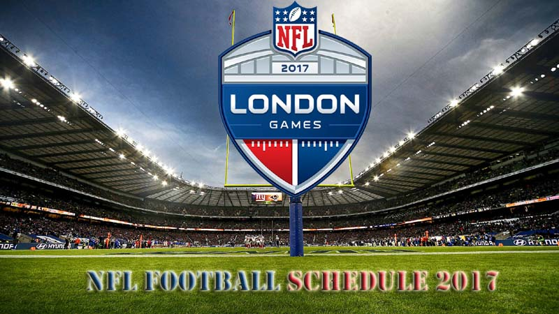 NFL Football Game Schedule 2017